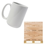 15oz Ceramic Mug (Pallet - 40 Cases of 36)