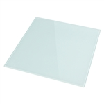"Smooth Glass 12"" x 12"" (White Back/Tempered)"