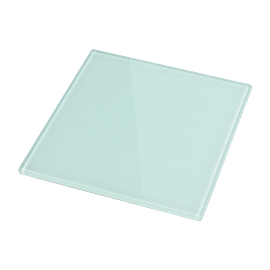 "Smooth Glass 6"" x 6"" (White Back/Non-Tempered)"