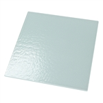 "Textured Glass 12"" x 12"" (White Back/Non-Tempered)"