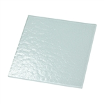 "Textured Glass 6"" x 6"" (White Back/Non-Tempered)"