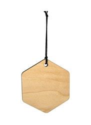 "<b><span style=""font-size: 20px;"">Hexagon Wood Ornament (Case of 120)</span></b>"