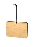 Rectangle Wood Ornament (Case of 120)