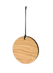 Round Wood Ornament (Case of 120)